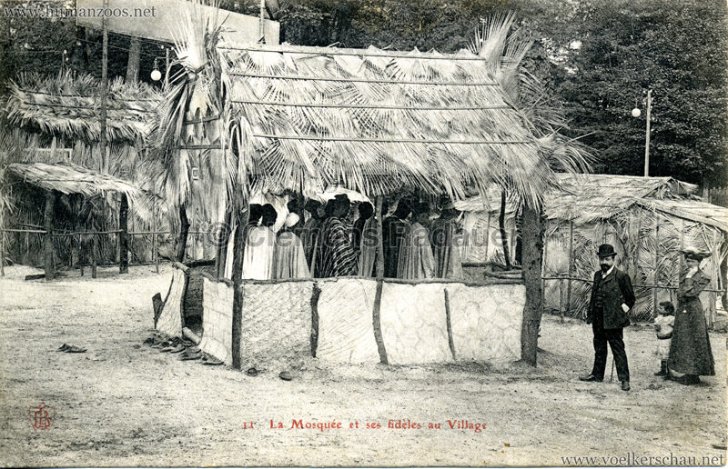 1904 Exposition d'Arras - 11. La Mosquée et ses fidèles au Village