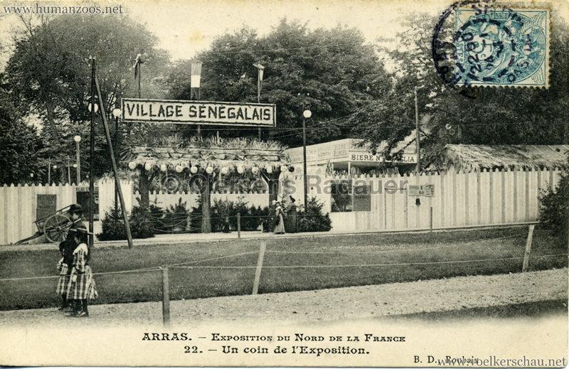 1904 Exposition d'Arras - 22. Un coin de l'Exposition