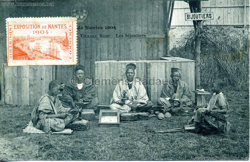 1904 Exposition de Nantes - Le Village Noir - 21. Les bijoutiers