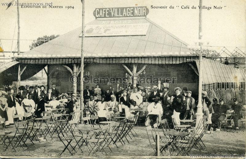 1904 Exposition de Nantes - Le Village Noir - Souvenir du