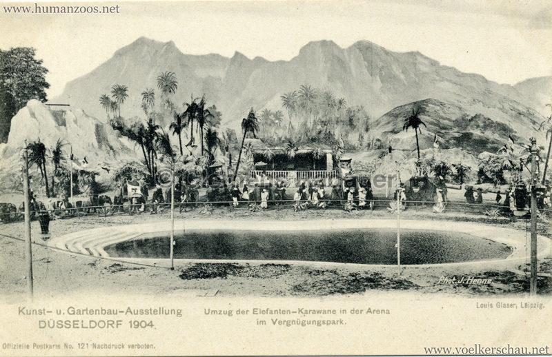 1904 Internationale Kunst- u. Gartenbau-Ausstellung Düsseldorf - 121