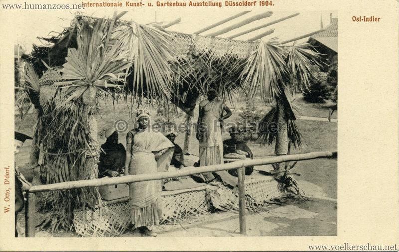 1904 Internationale Kunst- u. Gartenbau-Ausstellung Düsseldorf - Ost-Indier