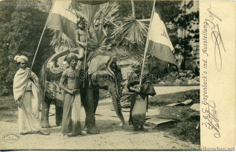 1904 J. & G. Hagenbeck's ind. Ausstellung 2