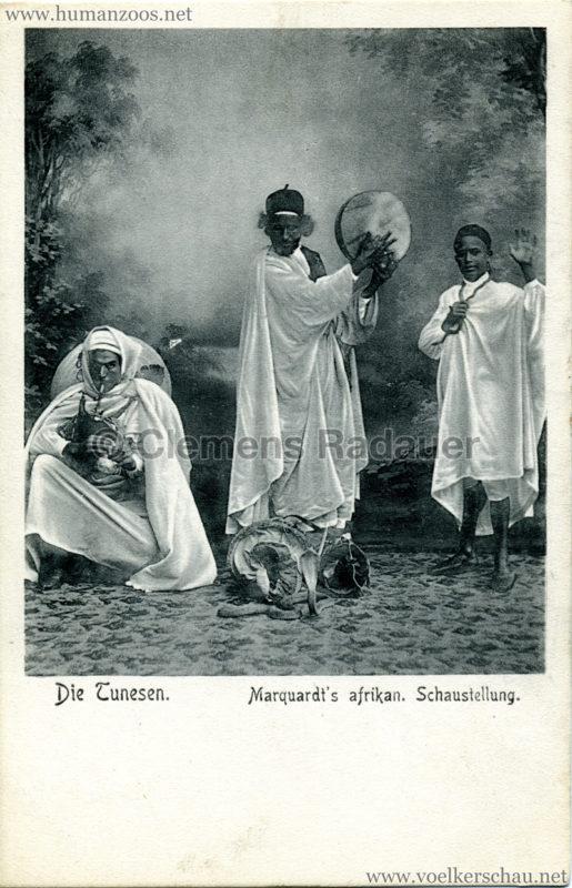 1904 Marquardt's afrik. Völkerschau - Die Tunesen 2