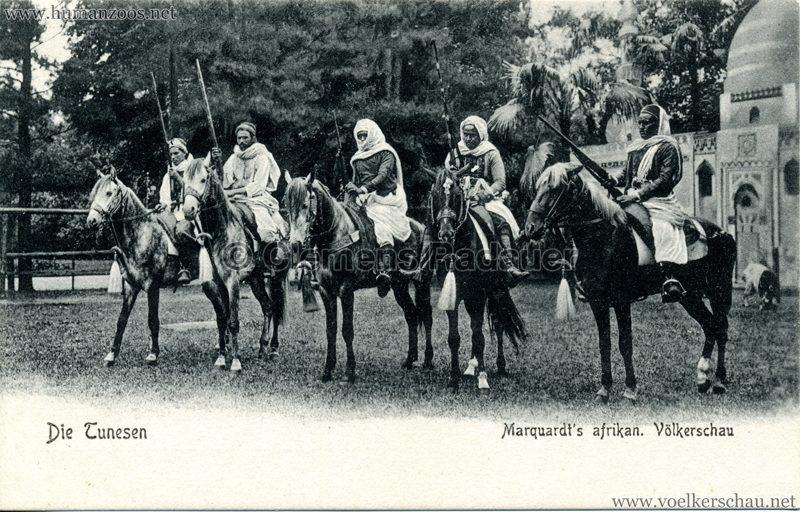 1904 Marquardt's afrik. Völkerschau - Die Tunesen 4