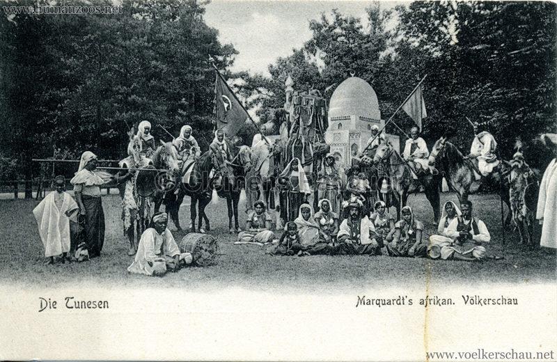1904 Marquardt's afrik. Völkerschau - Die Tunesen 5