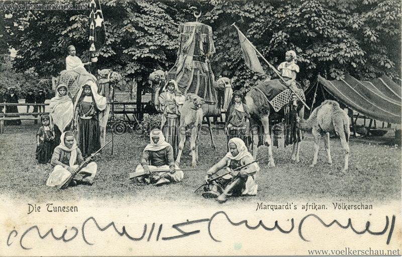 1904 Marquardt's afrik. Völkerschau - Die Tunesen 7