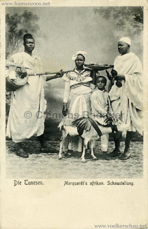 1904 Marquardt's afrik. Völkerschau - Die Tunesen 8