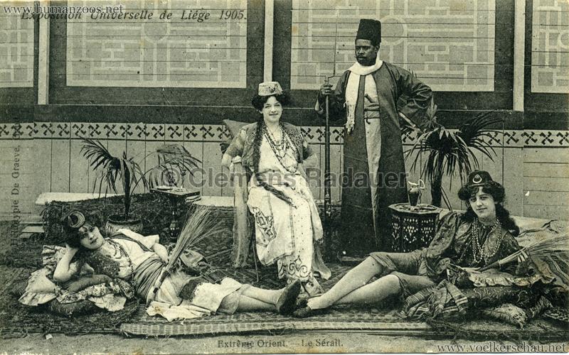 1905 Exposition de Liège - Extrême Orient - Le Sérail
