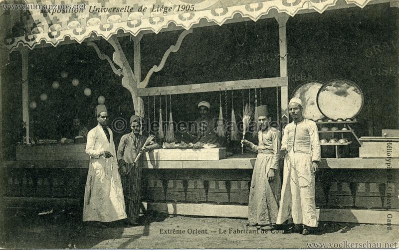 1905 Exposition de Liège - Extrême Orient - Le Fabricant de ?
