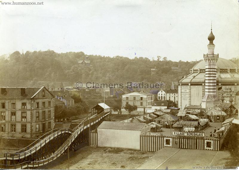 1905 Exposition de Liège - Press Photo Village Sénégalais