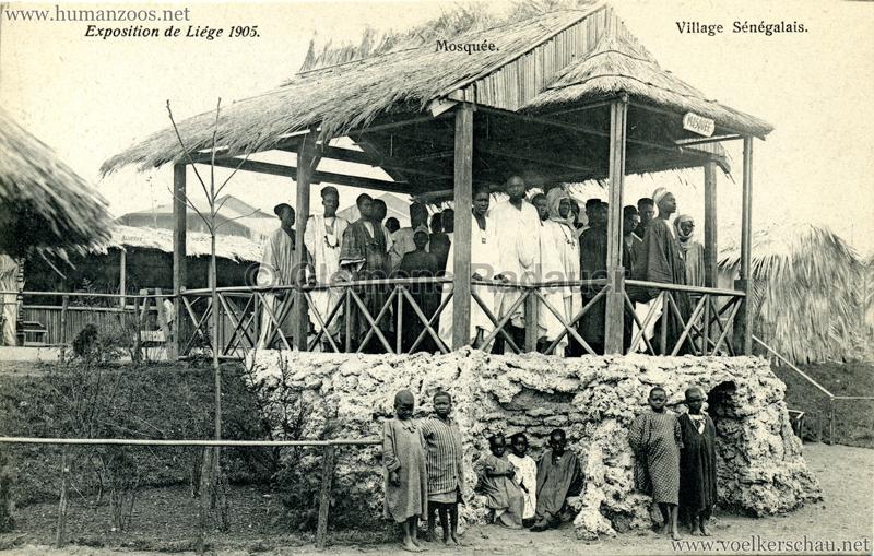 1905 Exposition de Liège - Village Sénégalais - Mosquée