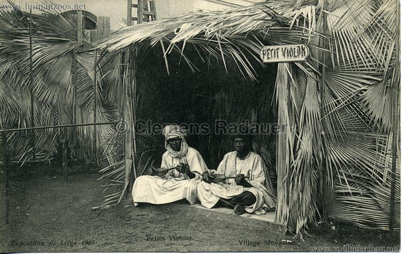 1905 Exposition de Liège - Village Sénégalais - Petits Violons
