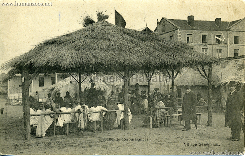 1905 Exposition de Liège - Village Sénégalais - Salle de Réjouissances