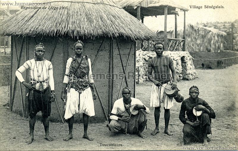 1905 Exposition de Liège - Village Sénégalais - Toucouleurs