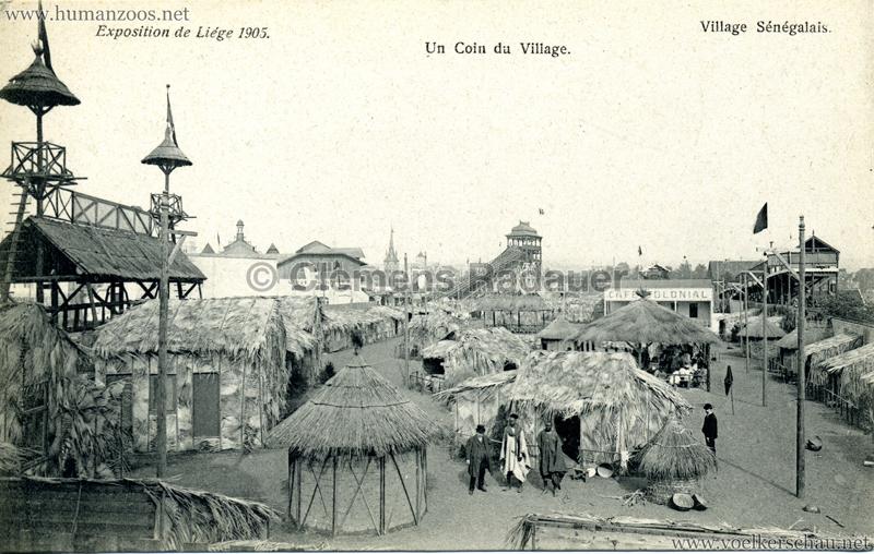 1905 Exposition de Liège - Village Sénégalais - Un coin du Village