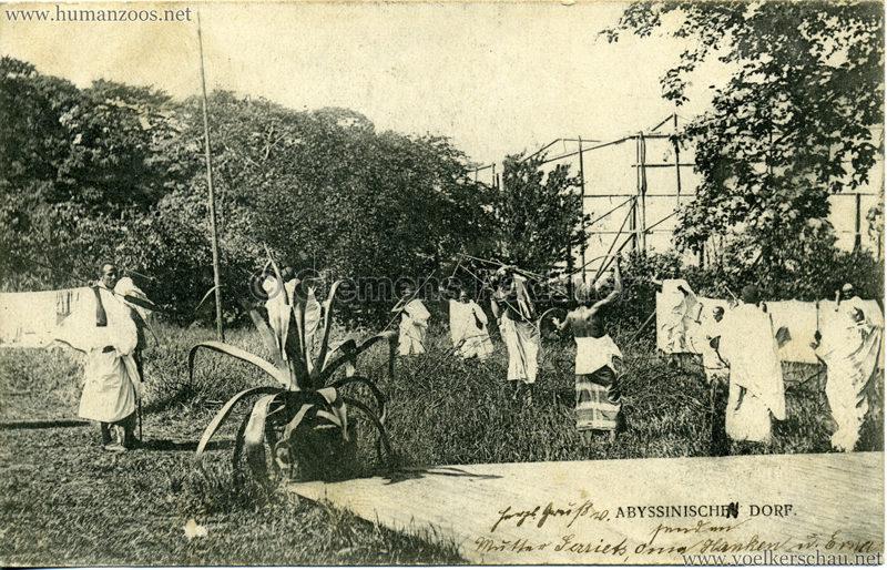 1905 - Jubiläumsausstellung Oldenburg - Abyssinisches Dorf 2