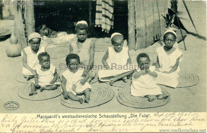 1905 Marquardt's westsudanesische Schaustellung