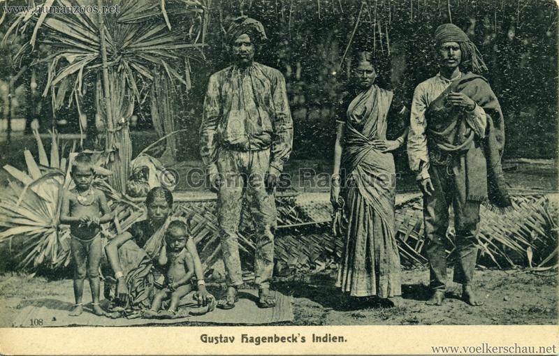 1905/1906 Gustav Hagenbecks Indien 108