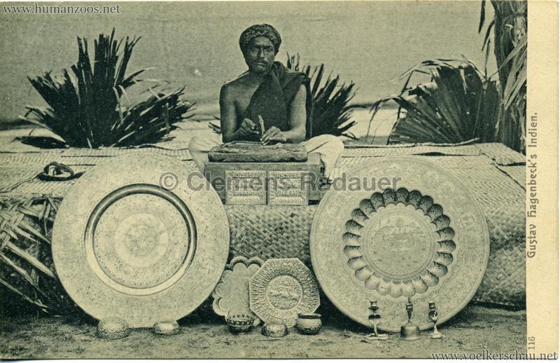 1905/1906 Gustav Hagenbecks Indien 116
