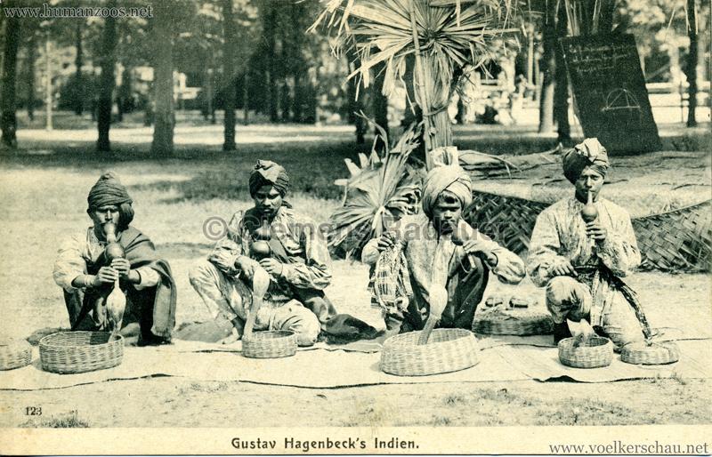 1905/1906 Gustav Hagenbecks Indien 123