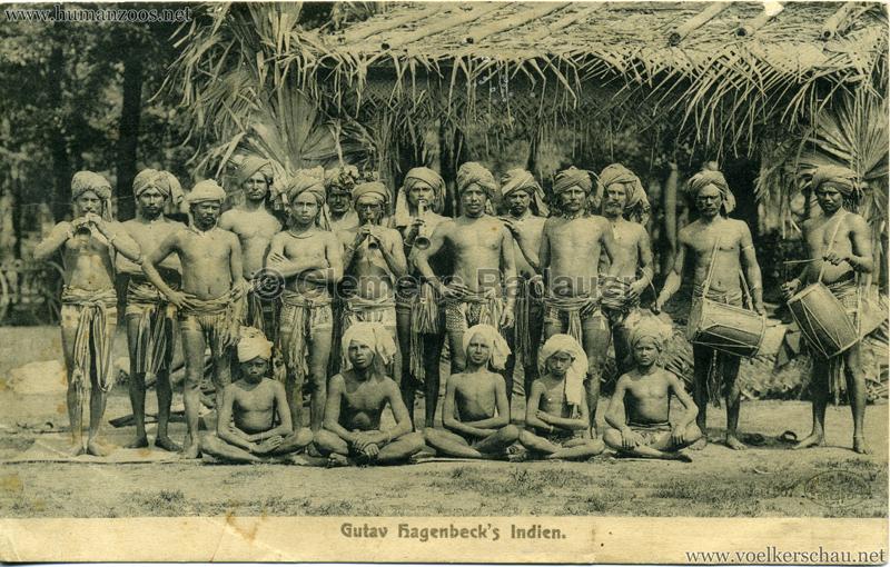 1905/1906 Gustav Hagenbecks Indien 307