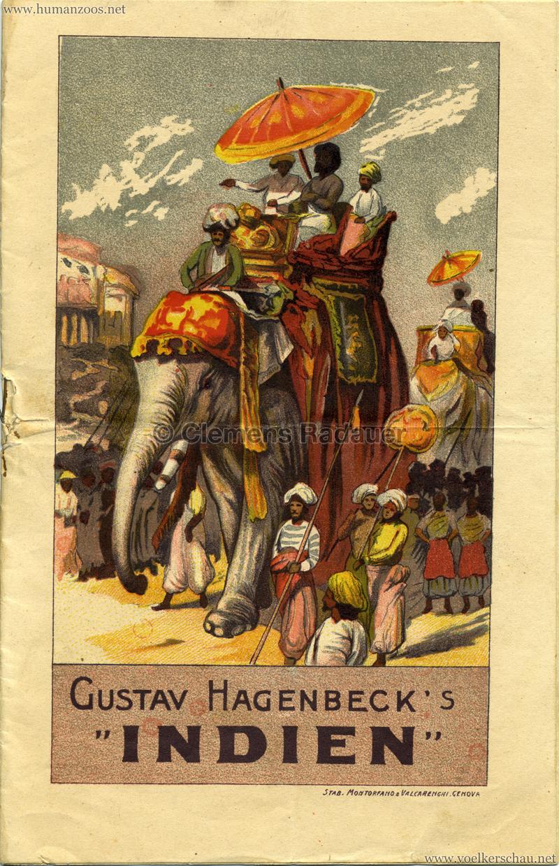 1905/1906 Gustav Hagenbecks Indien