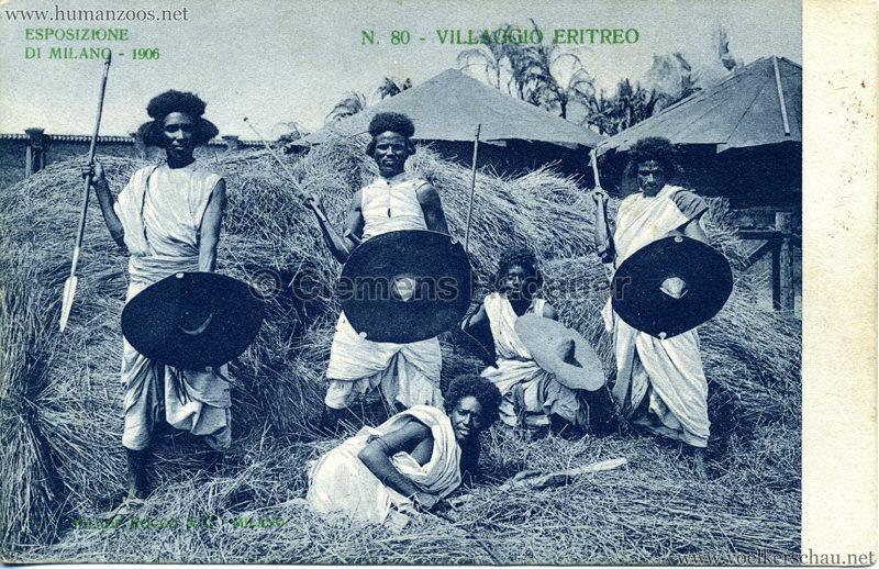 1906 Esposizione - Villaggio Eritreo 80