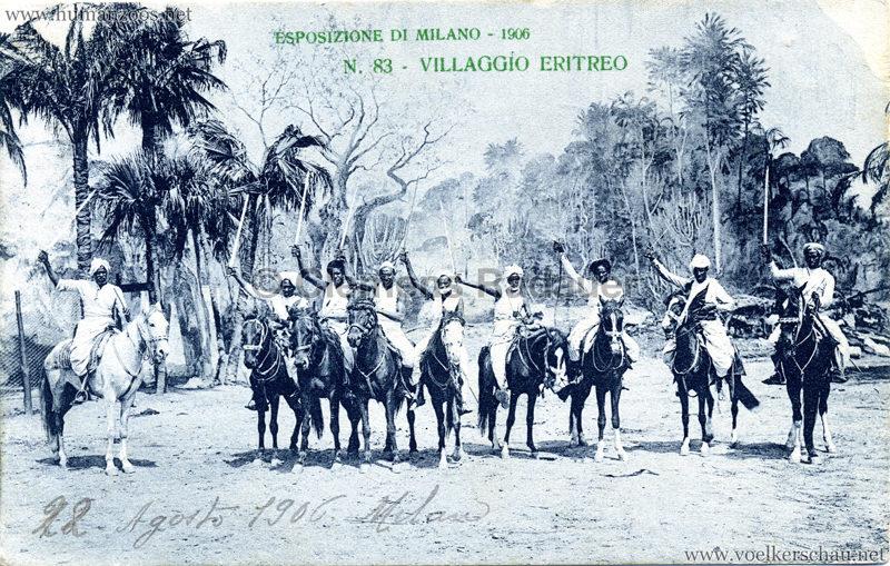 1906 Esposizione - Villaggio Eritreo 83