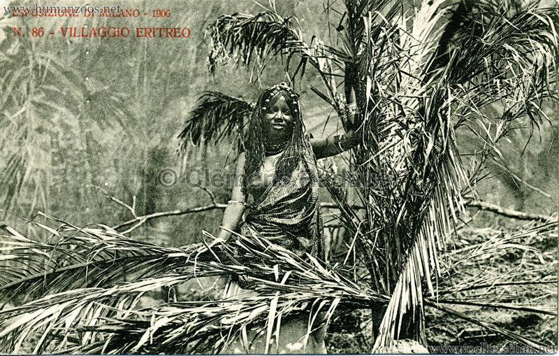 1906 Esposizione - Villaggio Eritreo 86