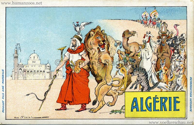 1906 Exposition Coloniale Marseille - Algérie