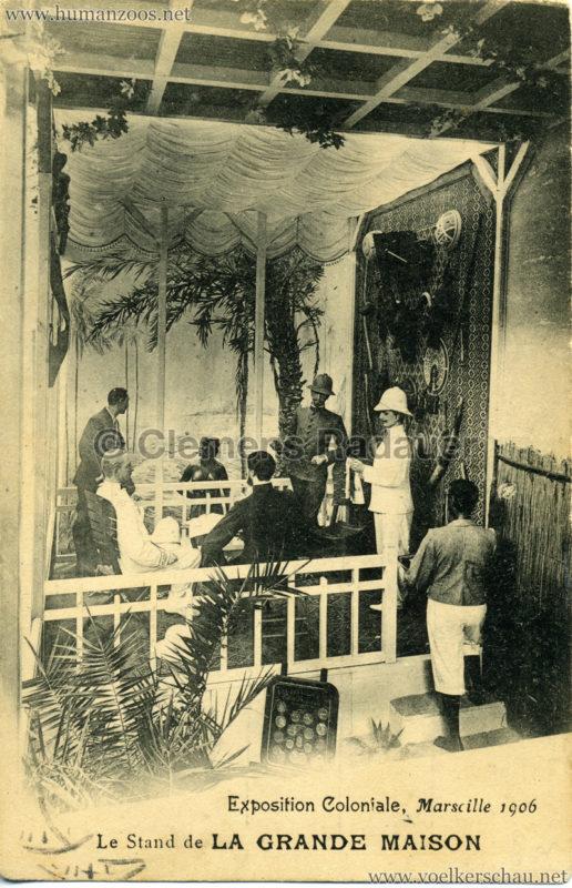 1906 Exposition Coloniale Marseille - Le Stand de la Grande Maison