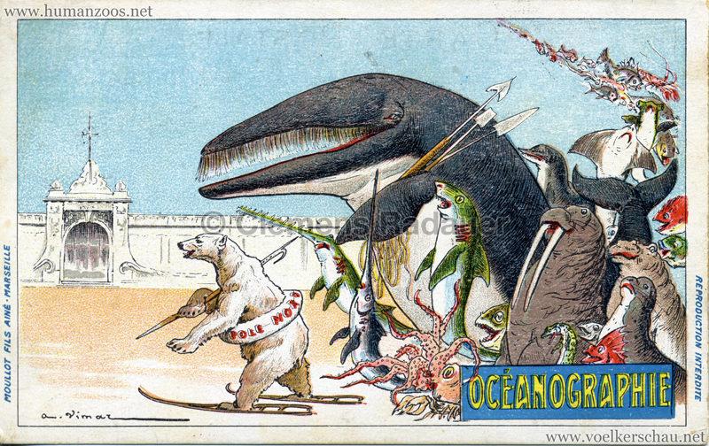 1906 Exposition Coloniale Marseille - Océanographie
