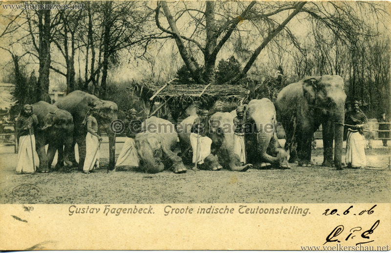 1906 Gustav Hagenbeck. Groote indische Teutoonstelling 224