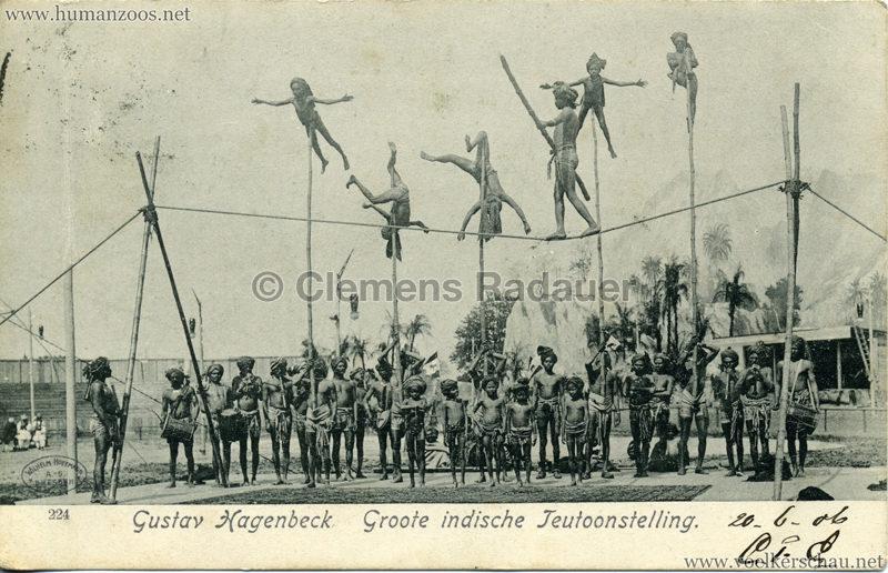 1906 Gustav Hagenbeck. Groote indische Teutoonstelling 209