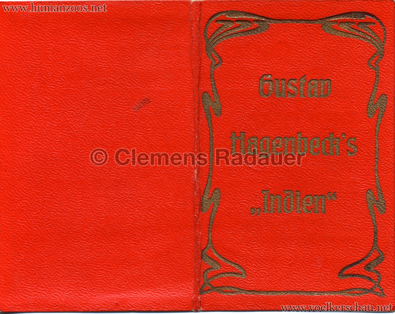 1906 Gustav Hagenbeck. Groote indische Teutoonstelling Diploma