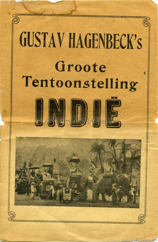 1906 Gustav Hagenbeck. Groote indische Teutoonstelling 1