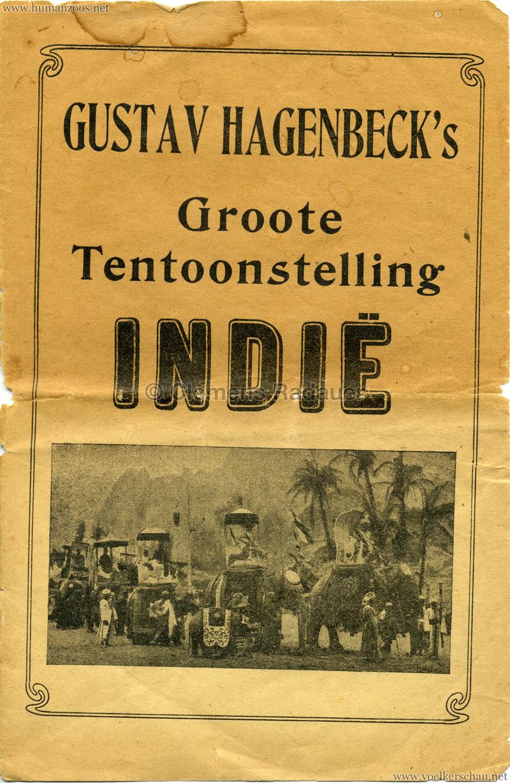 1906 Gustav Hagenbeck. Groote indische Teutoonstelling