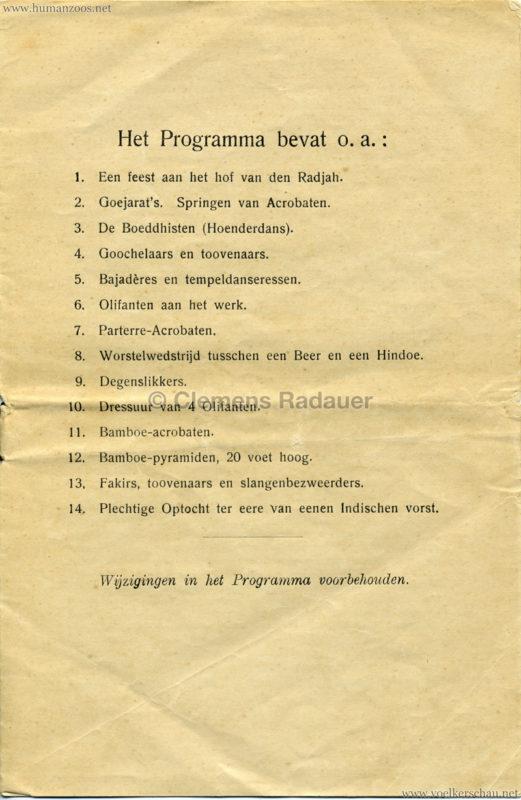 1906 Gustav Hagenbeck. Groote indische Teutoonstelling 2