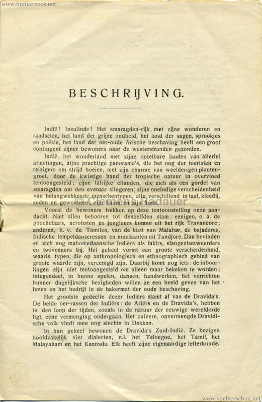 1906 Gustav Hagenbeck. Groote indische Teutoonstelling 3