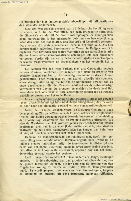 1906 Gustav Hagenbeck. Groote indische Teutoonstelling 4