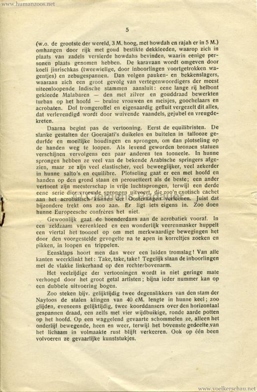 1906 Gustav Hagenbeck. Groote indische Teutoonstelling 5