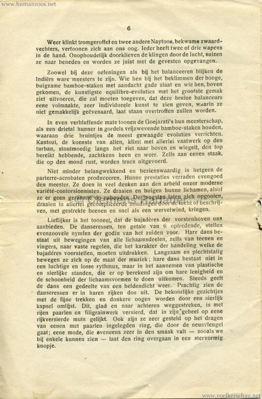 1906 Gustav Hagenbeck. Groote indische Teutoonstelling 6