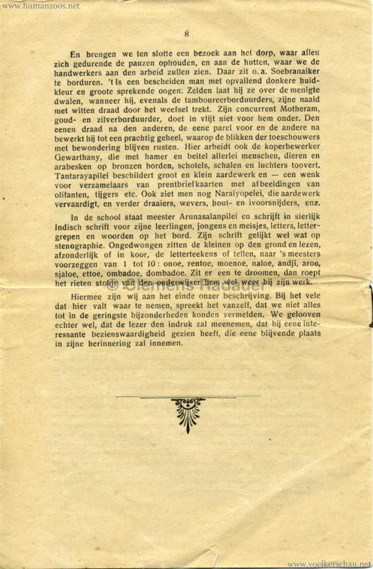1906 Gustav Hagenbeck. Groote indische Teutoonstelling 8