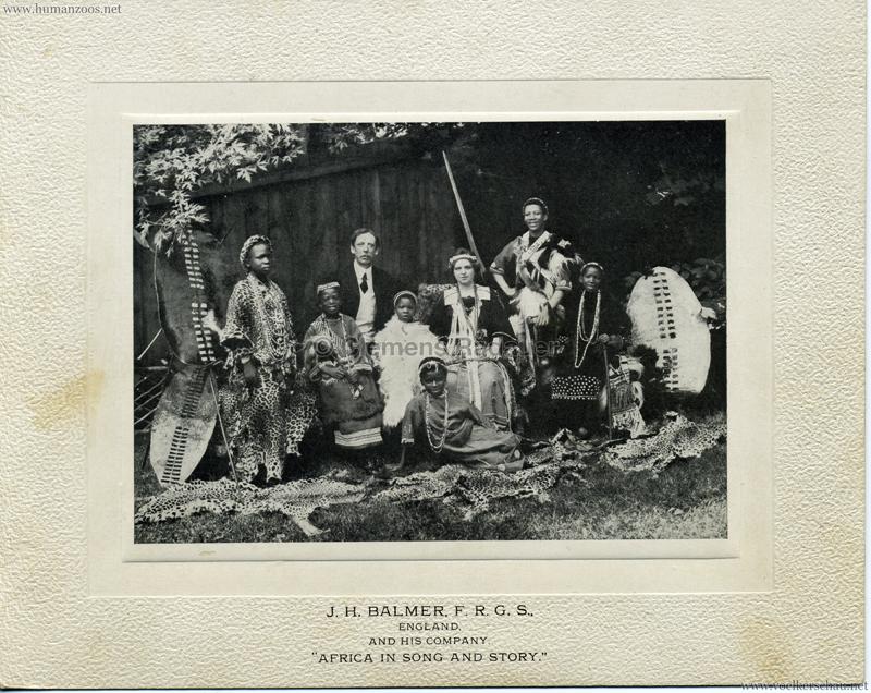 1906 (?) J.H. Balmer, F.R.G.S.,