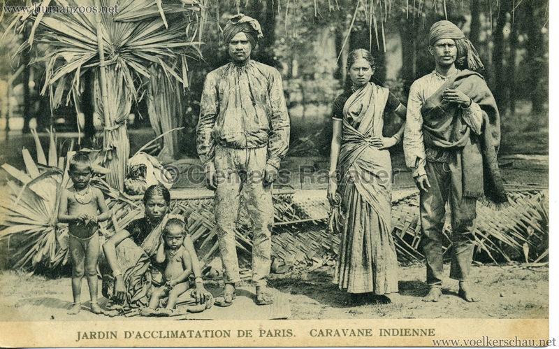1906 Jardin d'Acclimatation - Caravane Indienne 17