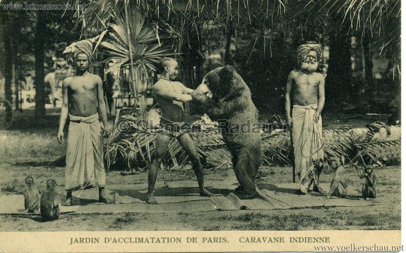 1906 Jardin d'Acclimatation - Caravane Indienne 8