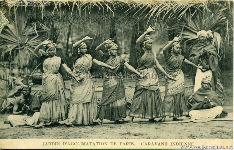 1906 Jardin d'Acclimatation - Caravane Indienne 15