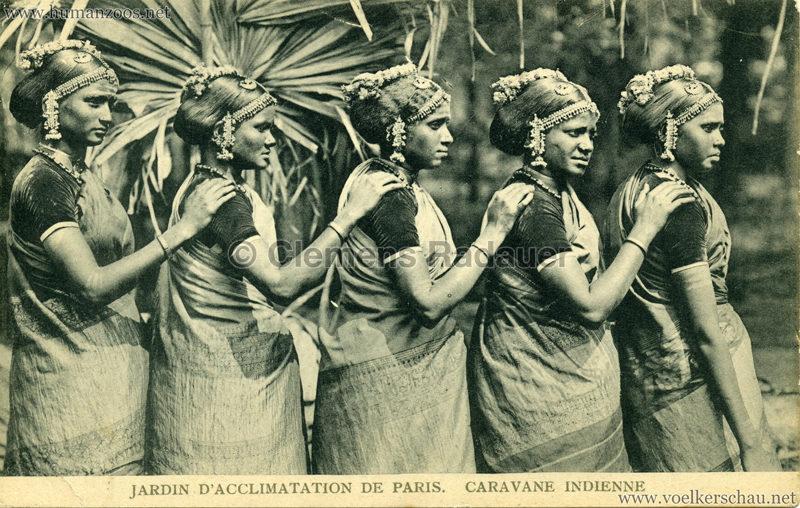 1906 Jardin d'Acclimatation - Caravane Indienne 16