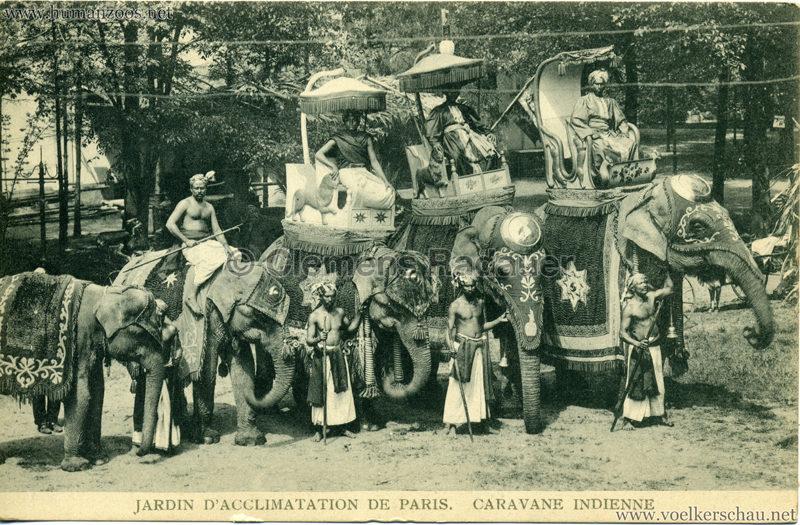 1906 Jardin d'Acclimatation - Caravane Indienne 2